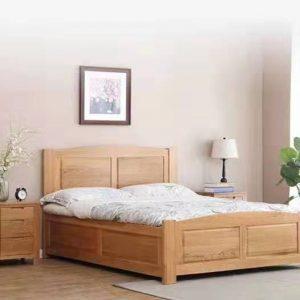 简约可储物经典实木床箱体床