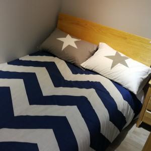 1.2米北欧ins单人床实木床