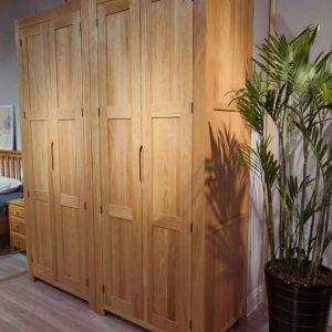 纯实木衣柜北欧现代简约衣橱