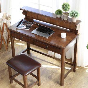 美式玄关门厅书桌学习桌多功能
