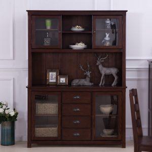 餐边柜美式碗柜储物柜多功能柜